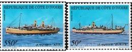 Ref. 604301 * MNH * - IVORY COAST. 1991. BARCOS DE MARFIL - Costa D'Avorio (1960-...)