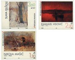 Ref. 51266 * MNH * - CROATIA. 1997. PAINTINGS . PINTURAS - Arte
