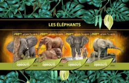 Djibouti 2016 Fauna Elephants - Djibouti (1977-...)