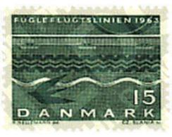 Ref. 95954 * MNH * - DENMARK. 1963. INAUGURATION OF THE DENMARK-GERMANY RAILWAY . INAUGURACION DEL FERRY DINAMARCA-ALEMA - Danimarca
