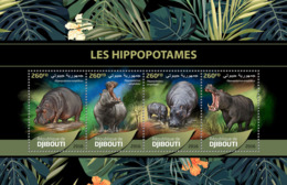 Djibouti 2016 Fauna Hippopotamus - Djibouti (1977-...)