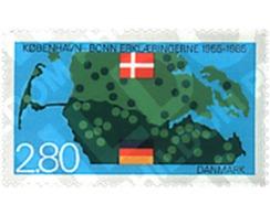 Ref. 96546 * MNH * - DENMARK. 1985. 30th ANNIVERSARY OF BONN-COPENHAGEN DECLARATION . 30 ANIVERSARIO DE LA DECLARACION C - Danimarca