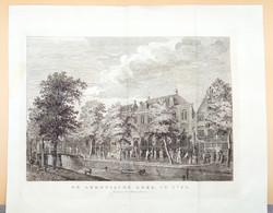 Kopergravure De Armenische Kerk In 1786 Te Amsterdam, 1887 Armeense Kerk - Prenten & Gravure