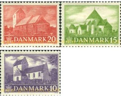 Ref. 143200 * MNH * - DENMARK. 1944. CHURCHES . IGLESIAS - 1913-47 (Christian X)