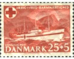 Ref. 143317 * MNH * - DENMARK. 1951. RED CROSS WELFARE FUND . PRO CRUZ ROJA - Bateaux