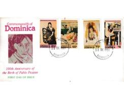 Ref. 380451 * MNH * - DOMINICA. 1981. CENTENARY OF THE BIRTH OF PABLO PICASSO . CENTENARIO DEL NACIMIENTO DE PABLO PICAS - Dominique (1978-...)