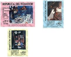 Ref. 36192 * MNH * - ECUADOR. 1981. CENTENARY OF THE BIRTH OF PABLO PICASSO . CENTENARIO DEL NACIMIENTO DE PABLO PICASSO - Unclassified