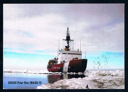 Antarctica • USA • 2016 • Postcard • Amunsden-Scott Stn • USCGC Polar Star - Francobolli