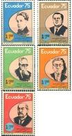 Ref. 308622 * MNH * - ECUADOR. 1976. FAMOUS PEOPLE . PERSONAJES - Non Classés