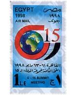 Ref. 51628 * MNH * - EGYPT. 1998. 8 CUMBRE DEL G-15 - Unused Stamps