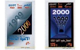 Ref. 52010 * MNH * - EGYPT. 2000. THE NEW MILLENNIUM . EL NUEVO MILENIO - Unused Stamps