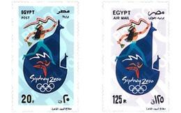 Ref. 78952 * MNH * - EGYPT. 2000. GAMES OF THE XXVII OLYMPIAD. SYDNEY 2000 . 27 JUEGOS OLIMPICOS VERANO SYDNEY 2000 - Unused Stamps