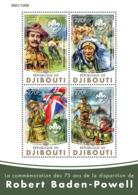 Djibouti 2016Robert Baden-Powell, Scouting - Djibouti (1977-...)