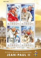 Djibouti 2016 Pope John Paul II , Nelson Mandela , Mother Teresa - Djibouti (1977-...)