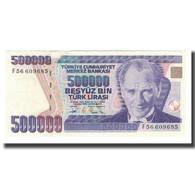 Billet, Turquie, 500,000 Lira, L.1970, KM:212, NEUF - Turkije