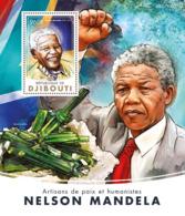 Djibouti 2016 Nelson Mandela,mineral - Djibouti (1977-...)