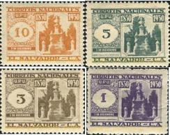 Ref. 359030 * MNH * - EL SALVADOR. 1930. UPU - PERSONAJE - Celebrità