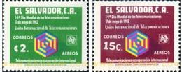 Ref. 359265 * MNH * - EL SALVADOR. 1982. WORLD TELECOMMUNICATIONS DAY . DIA MUNDIAL DE LAS TELECOMUNICACIONES - Télécom