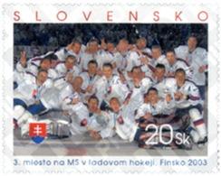 Ref. 132108 * MNH * - SLOVAKIA. 2003. ICE HOCKEY SLOVAK TEAM  . EQUIPO ESLOVACO DE HOQUEI SOBRE HIELO - Slovacchia