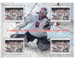 Ref. 132109 * MNH * - SLOVAKIA. 2003. ICE HOCKEY SLOVAK TEAM  . EQUIPO ESLOVACO DE HOQUEI SOBRE HIELO - Slovacchia