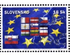 Ref. 145626 * MNH * - SLOVAKIA. 2004. EUROPEAN UNION AMPLIATION . AMPLIACION DE LA UNION EUROPEA - Slovakia