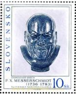 Ref. 156552 * MNH * - SLOVAKIA. 1996. OBRAS DE ARTE DE LA GALERIA NACIONAL DE BRATISLAVA - Escultura