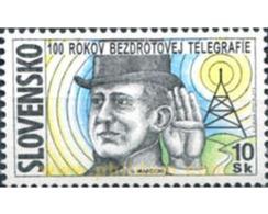 Ref. 156564 * MNH * - SLOVAKIA. 1997. CENTENARY OF THE RADIO . CENTENARIO DE LA RADIO - Sin Clasificación