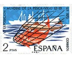 Ref. 84868 * MNH * - SPAIN. 1973. 4th FISHING WORLD EXHIBITION . 4 EXPOSICION MUNDIAL DE LA PESCA - Bateaux