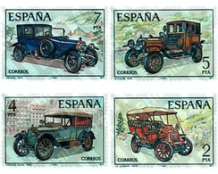Ref. 84996 * MNH * - SPAIN. 1977. VINTAGE CARS . COCHES ANTIGUOS - Coches