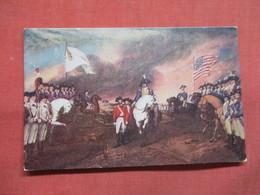 Surrender Of Cornwallis Yorktown  1781       Ref 3507 - History