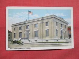 -  Post Office  Kansas > Manhattan    Ref 3507 - Manhattan