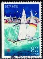 Wakura Coast (Wakayama), Japan Stamp SC#Z150a Used - 1989-... Emperor Akihito (Heisei Era)