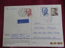 Carte-entier Postal De 1968 à Destination De DDR - Covers & Documents