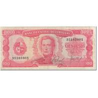 Billet, Uruguay, 100 Pesos, 1967, Undated (1967), KM:47a, TTB - Uruguay