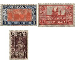 Ref. 209229 * HINGED * - SPAIN. 1937. COMPOSTELA HOLY YEAR . AÑO JUBILAR COMPOSTELANO - Unclassified