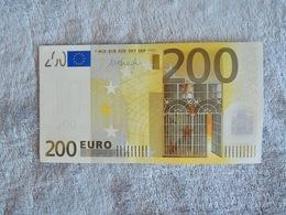 Banknote 200 EUROS - EURO