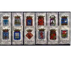 Ref. 210732 * MNH * - SPAIN. 1964. PROVINCES CAPITALS COATS OF ARMS . ESCUDOS DE CAPITALES DE PROVINCIA - 1931-Today: 2nd Rep - ... Juan Carlos I
