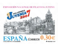Ref. 202526 * MNH * - SPAIN. 2007. JUVENIA 2007 . JUVENIA 2007 - 2001-10 Neufs