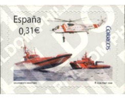 Ref. 213754 * MNH * - SPAIN. 2008. MARITIME RESCUE . SALVAMENTO MARITIMO - Hubschrauber