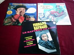 FERNAND  RAYNAUD  °  COLLECTION DE 8 ALBUMS VINYLES - Vollständige Sammlungen