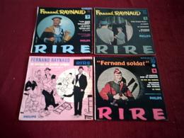 FERNAND  RAYNAUD  °  COLLECTION DE 8 / 45 TOURS  VINYLES - Colecciones Completas