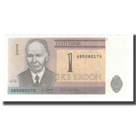 Billet, Estonia, 1 Kroon, 1992, KM:69a, NEUF - Estonie