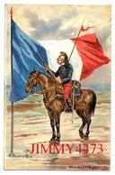 CPA - DRAGON ( VEDETTE ) Illust. A. Palm De Roas N° 40 - Edit. K. F. Paris Série 1302 - Reggimenti