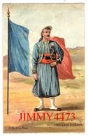 CPA - TIRAILLEUR ALGERIEN - Illust. A. Palm De Roas N° 10 - Edit. K. F. Paris - Reggimenti