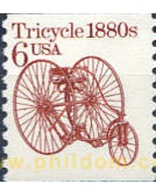 Ref. 21624 * MNH * - UNITED STATES. 1985. TRICYCLE . TRICICLO - United States
