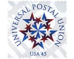 Ref. 52789 * MNH * - UNITED STATES. 1999. 125th ANNIVERSARY OF UPU . 125 ANIVERSARIO DE LA UPU - U.P.U.