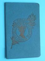 Ecole PIGIER Paris > Carnet D'élève De Marthe SCHILD N° 1259 Le 15 Mai 1916 ( Voir Photo ) Certificat Blanco ! - Diplômes & Bulletins Scolaires