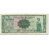 Billet, Paraguay, 1 Guarani, 1963, Undated (1963), KM:193b, TTB - Paraguay