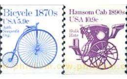 Ref. 244308 * MNH * - UNITED STATES. 1982. TRANSPORTATIONS . TRANSPORTE - United States