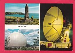 Modern Multi View Post Card Of Telstar(communications Satellit)Cornwall,U30. - Inghilterra